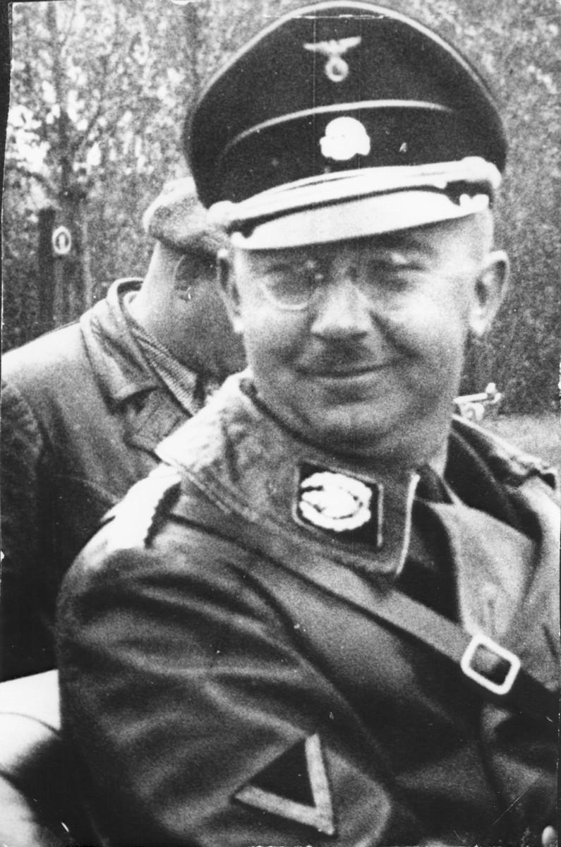 Portrait of Reichsfuehrer-SS Heinrich Himmler.