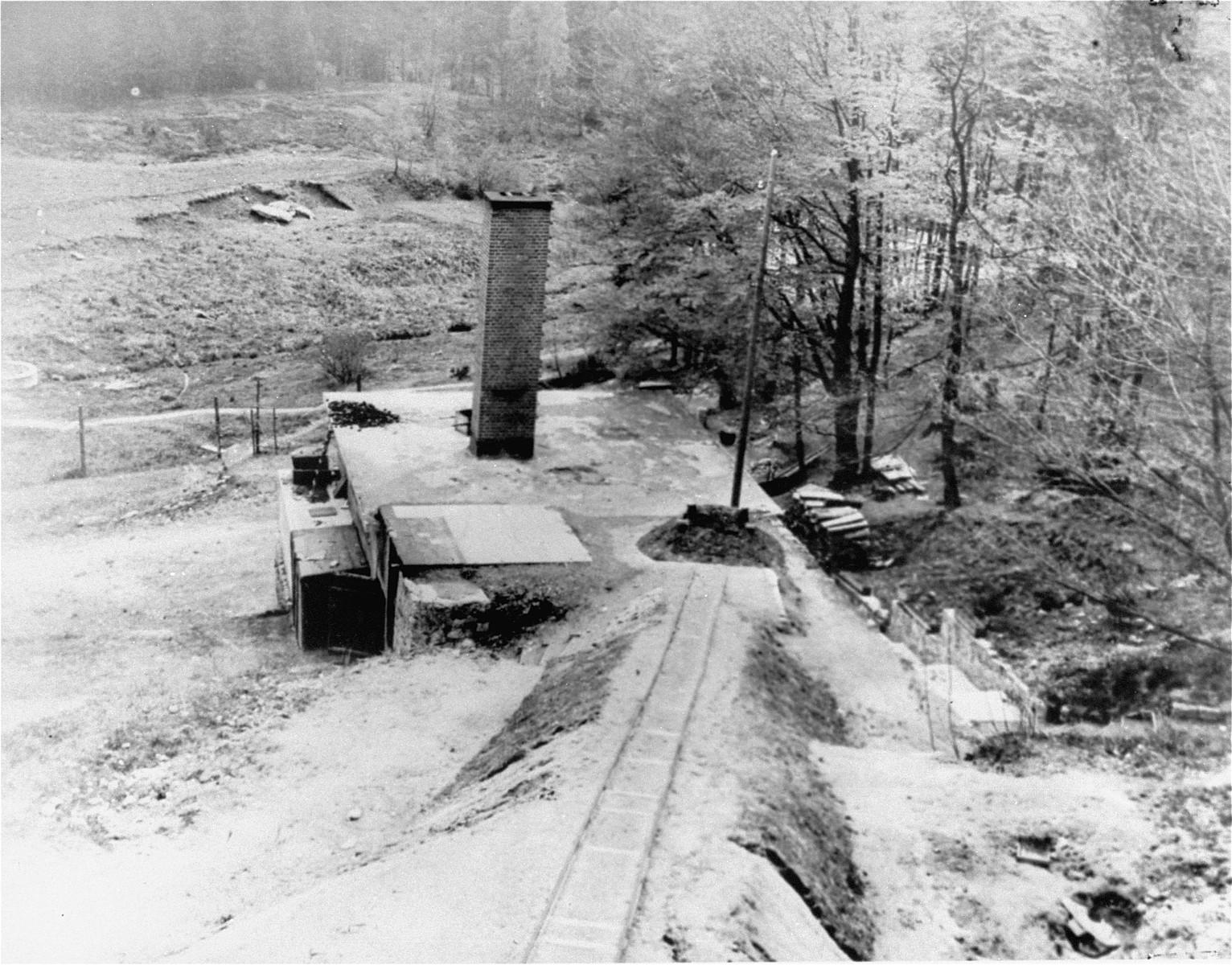 The crematorium in Flossenbuerg.