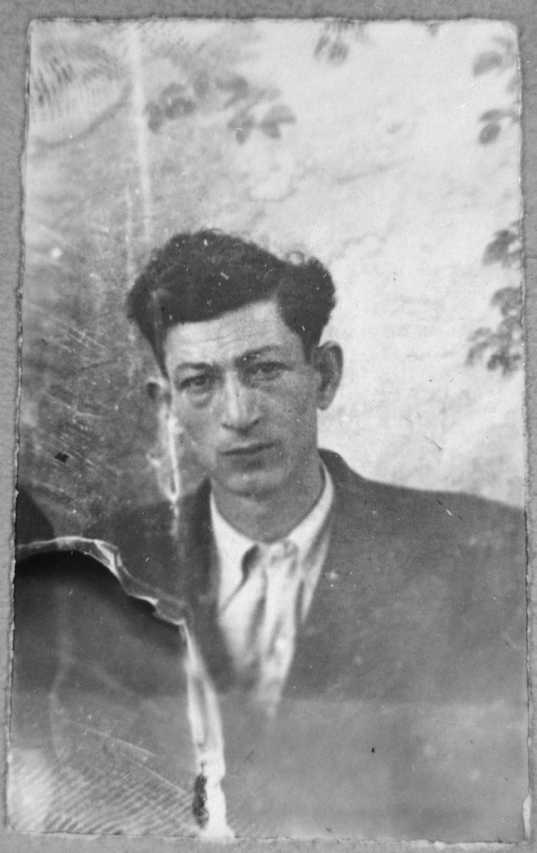 Portrait of Bohor Kalderon (from Belgrad).