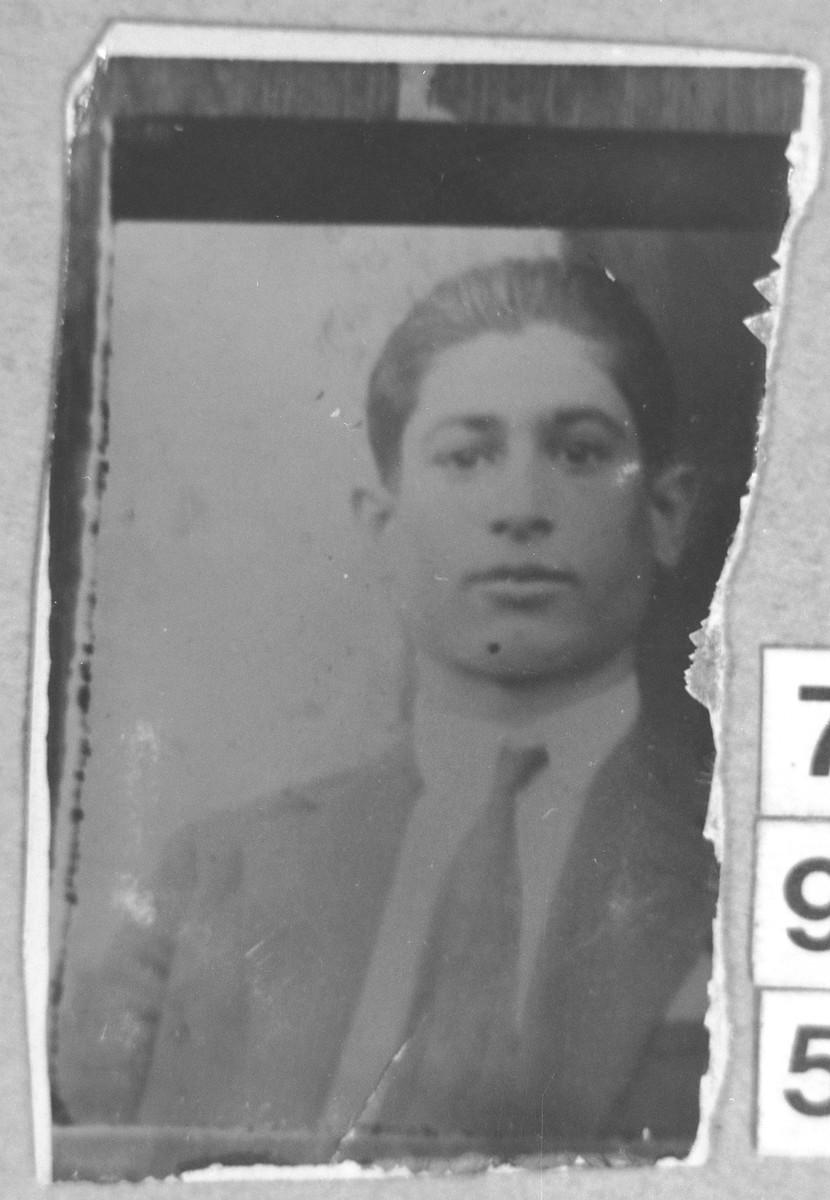 Portrait of Avram Kamchi (from Belgrad).