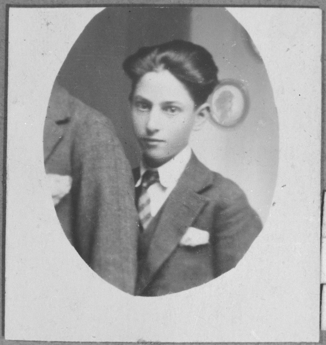 Portrait of Mentesh Pardo.  He was a second-hand dealer.