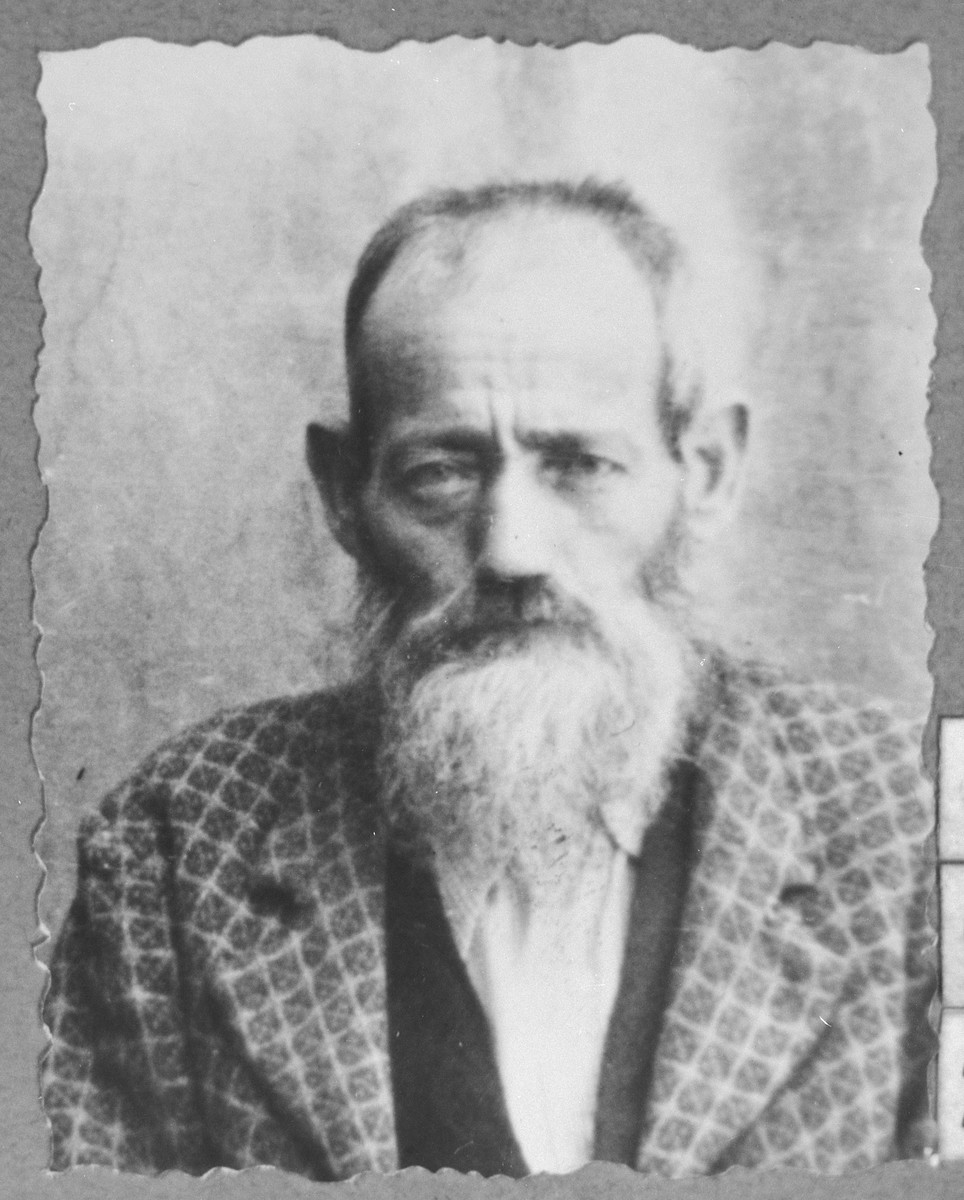 Portrait of Bohor Pardo, son of Eliau Pardo.  He was a second-hand dealer.  He lived on Putnika in Bitola.