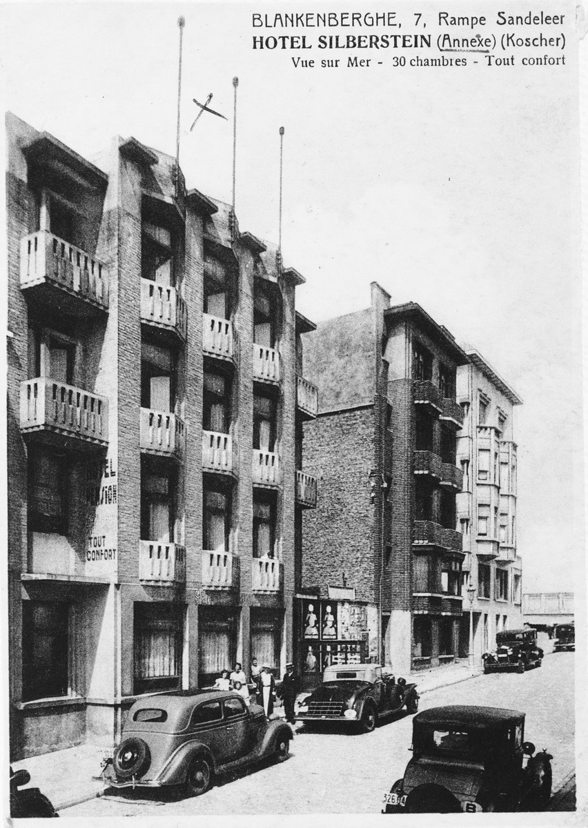 View of the kosher hotel owned and operated by the Einhorn family.