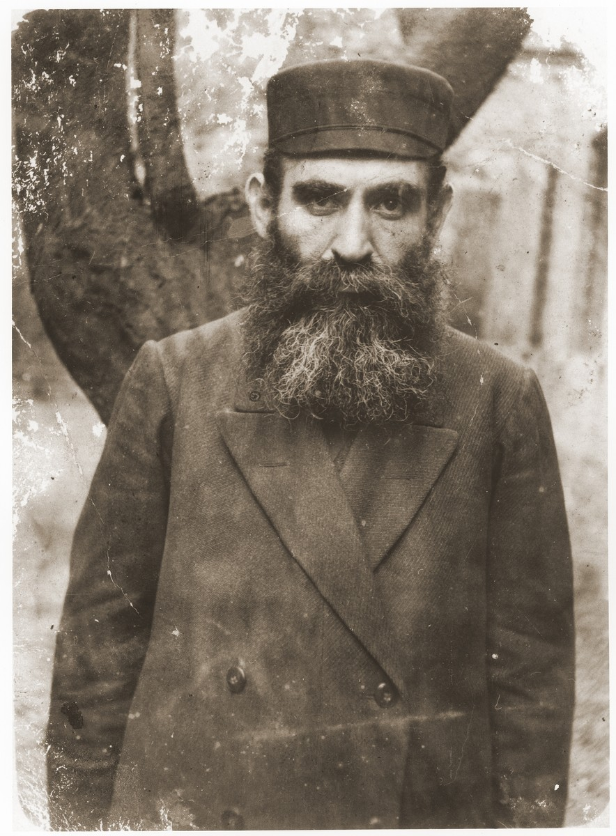 Portrait of Mordka Cederbaum, father-in-law of the donor's brother.