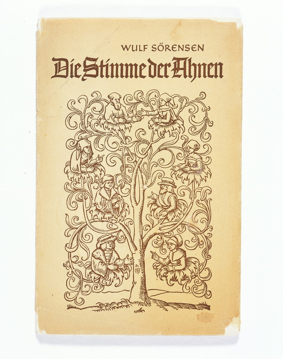 "The cover of ""Die Stimme der Ahnen"" [The Voice of the Ancestors]."