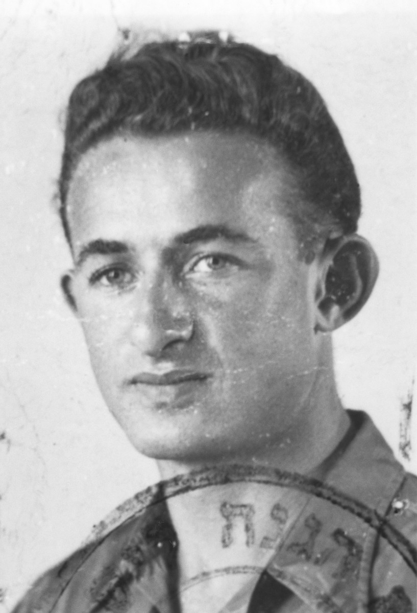 Israel Defence Forces identification card photo of Joseph Harmatz.