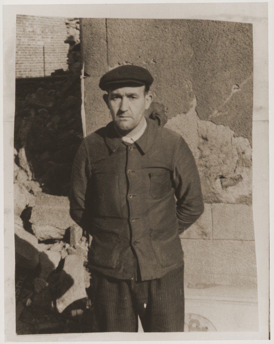 Martial Machefer, a resident of Oradour-sur-Glane, is one of eleven people who survived the massacre of the town's inhabitants by the SS on June 10, 1944.