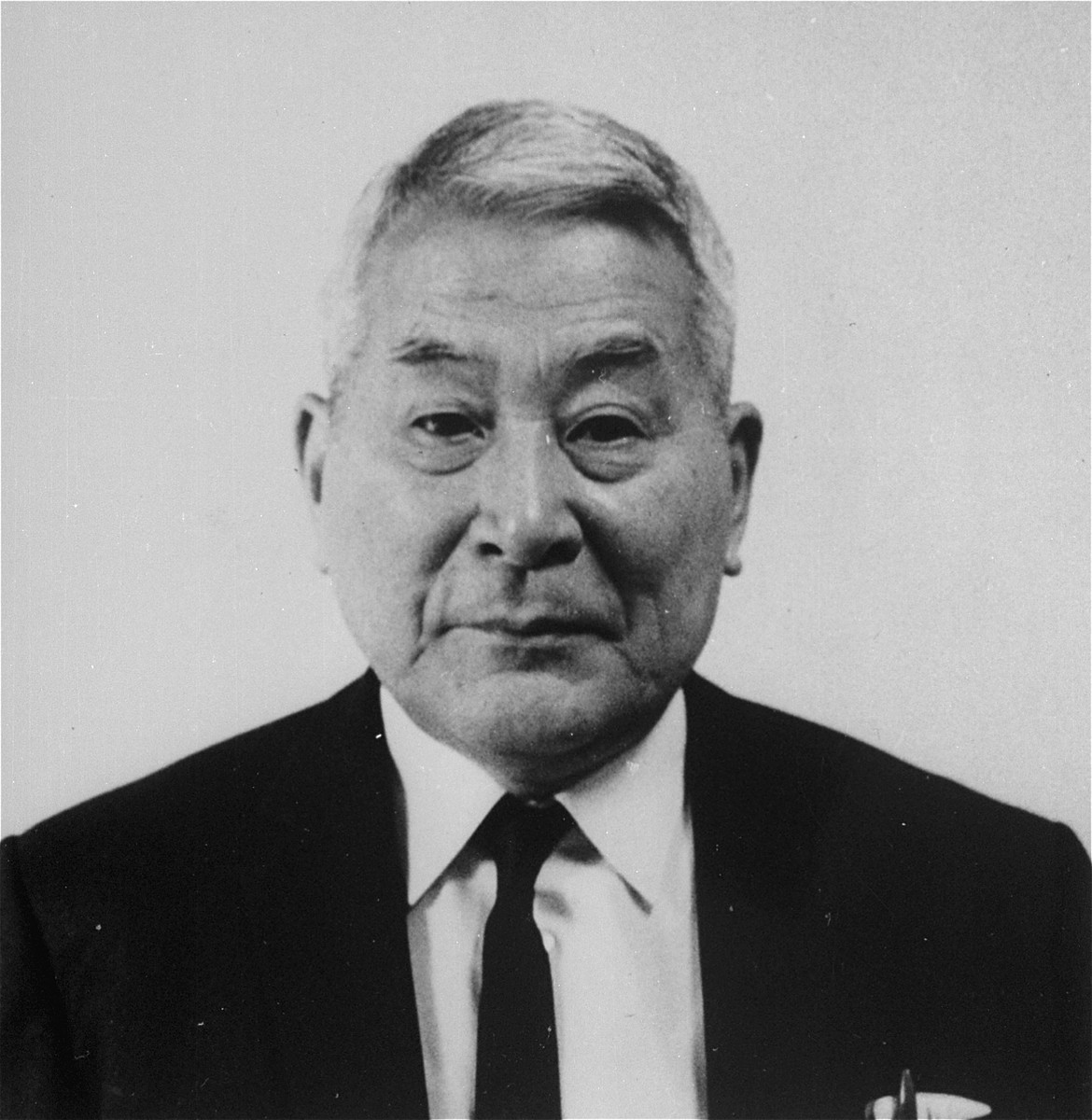 Portrait of Chiune Sugihara in his 74th year.