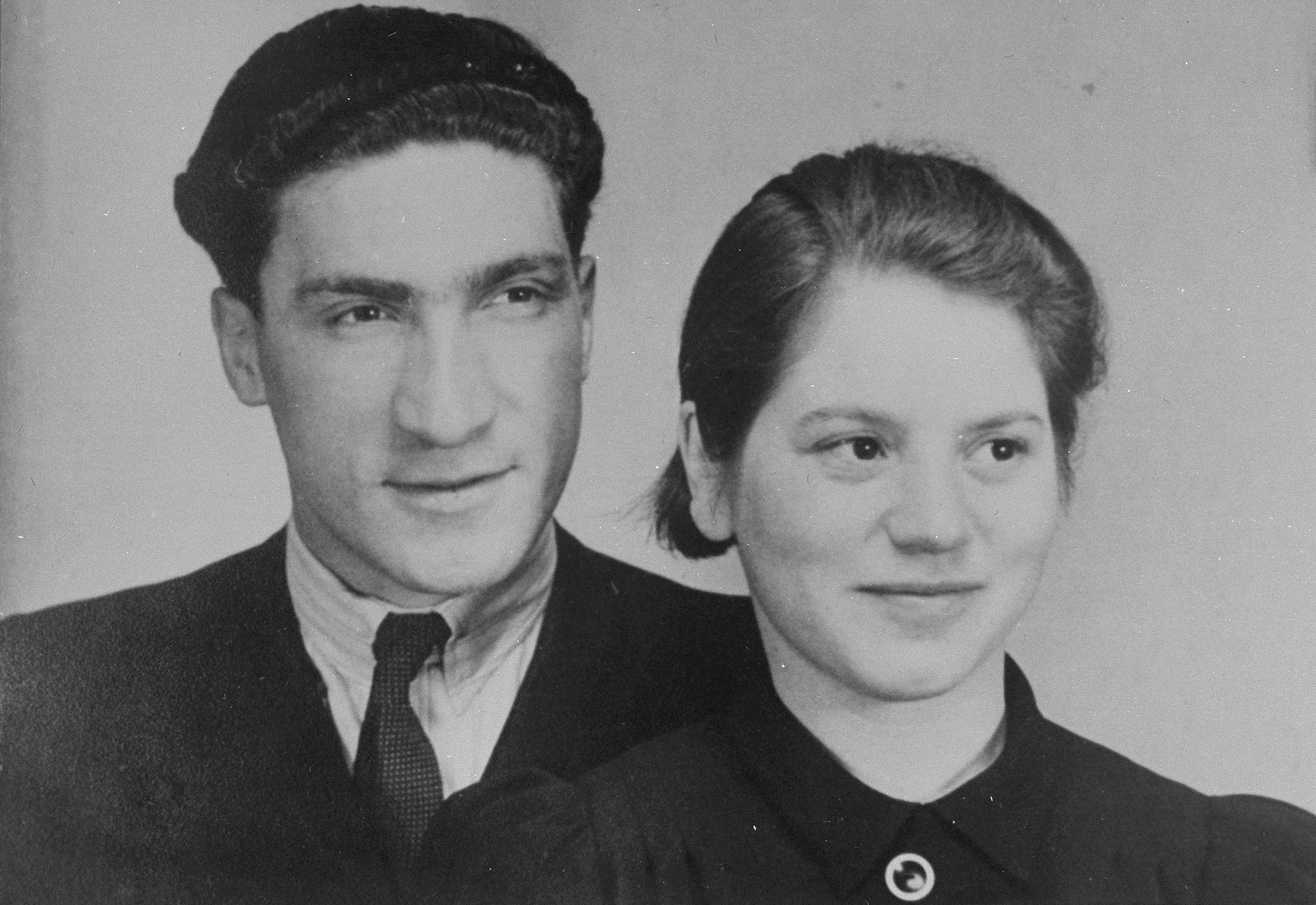 Portrait of Coenraad Rood and his wife Elisabeth Kooperberg Rood.