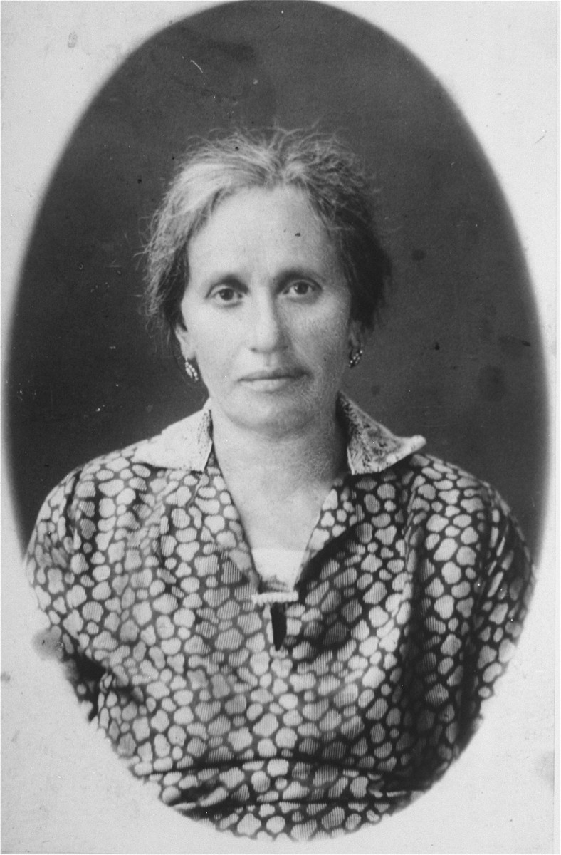 Portrait of Rivka Gaenger, the grandmother of Amalie Petranker.