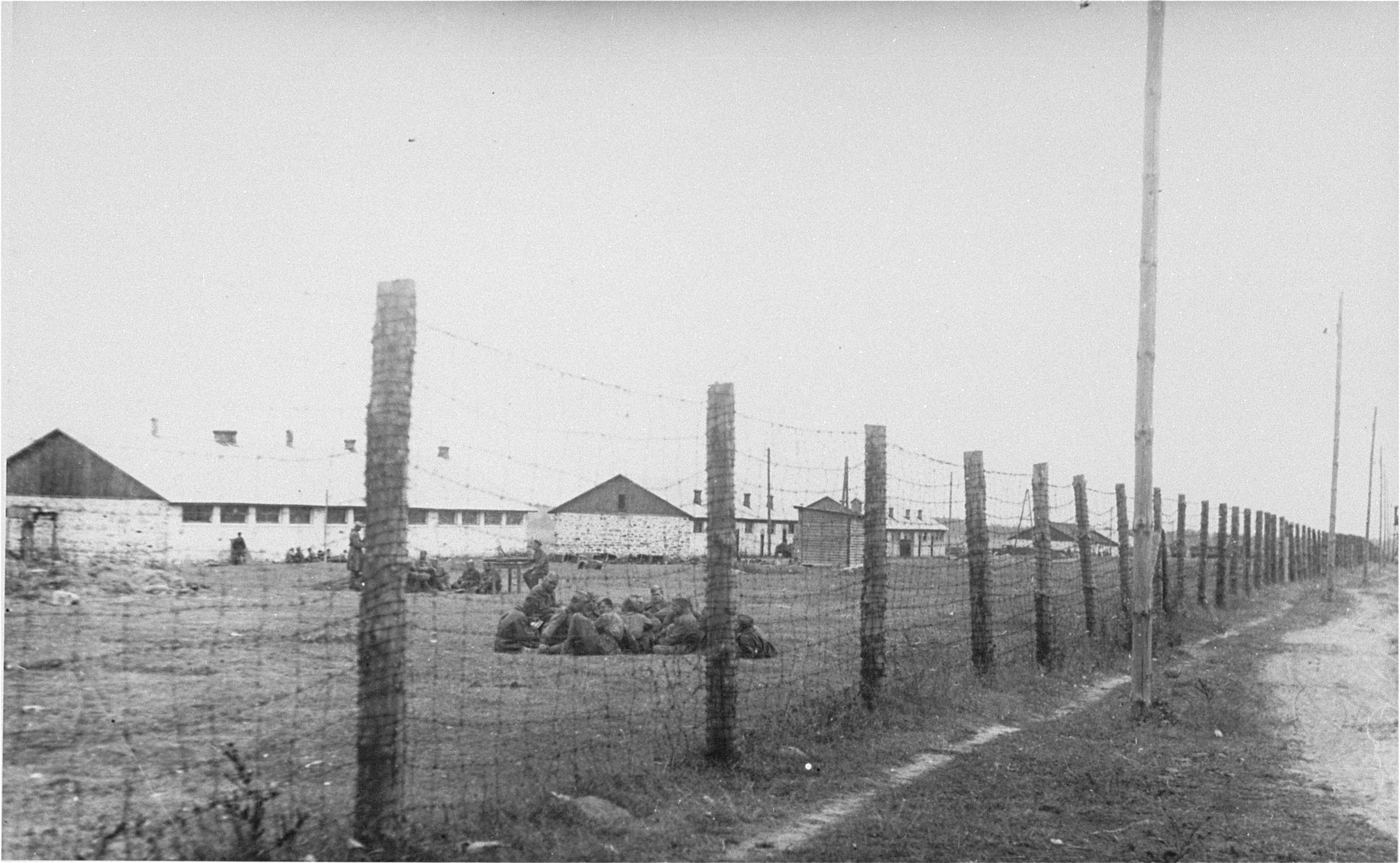 Soviet POWs in the Janowska concentration camp.