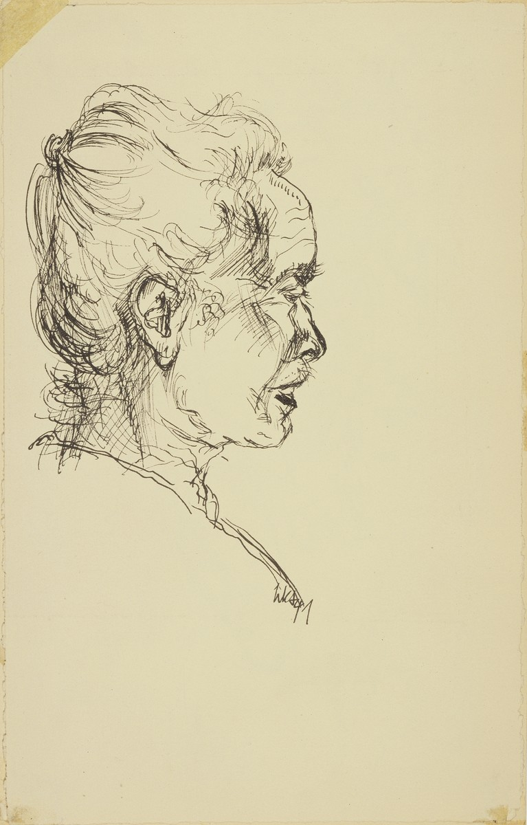 """Mutti Klein--Protrait"" by Lili Andrieux."