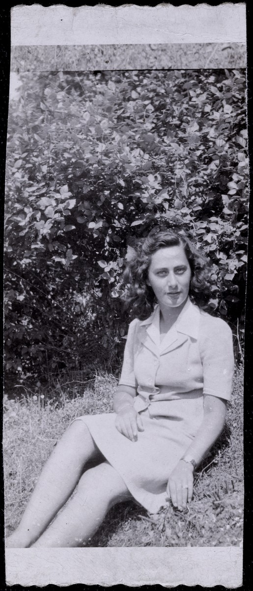 Portrait of Elizabeth Kaufmann soon after her arrival in the United States.