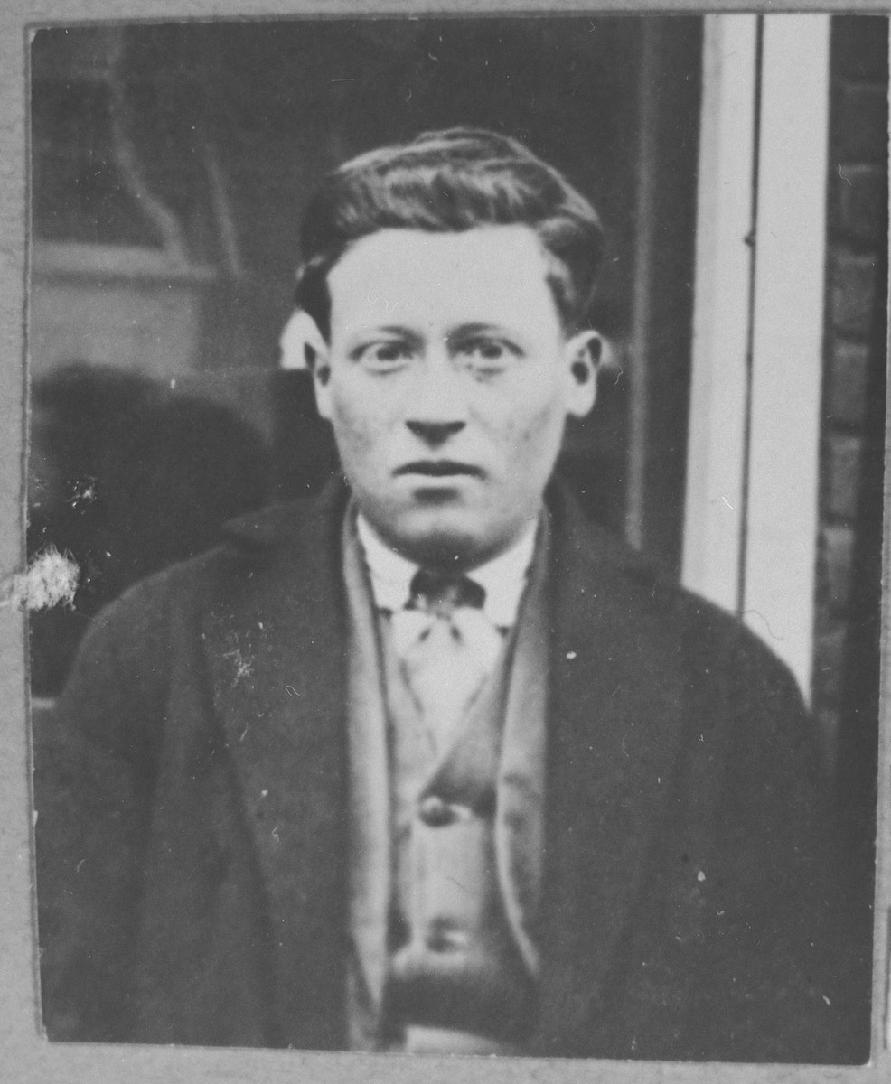 Portrait of Jak Sarfati.  He lived at Dalmatinska 76 in Bitola.