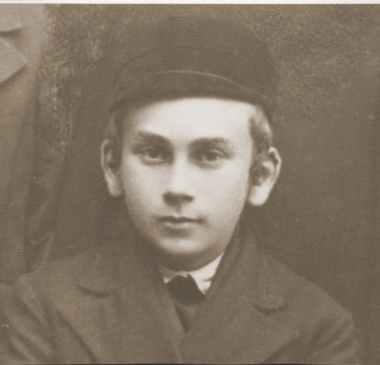 Portrait of Naftali Saleschütz in Kolbuszowa.