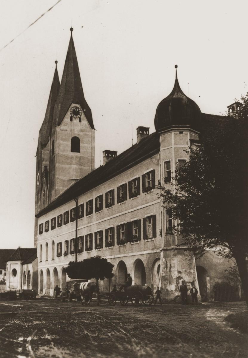 View of the Kloster Indersdorf DP children's center.