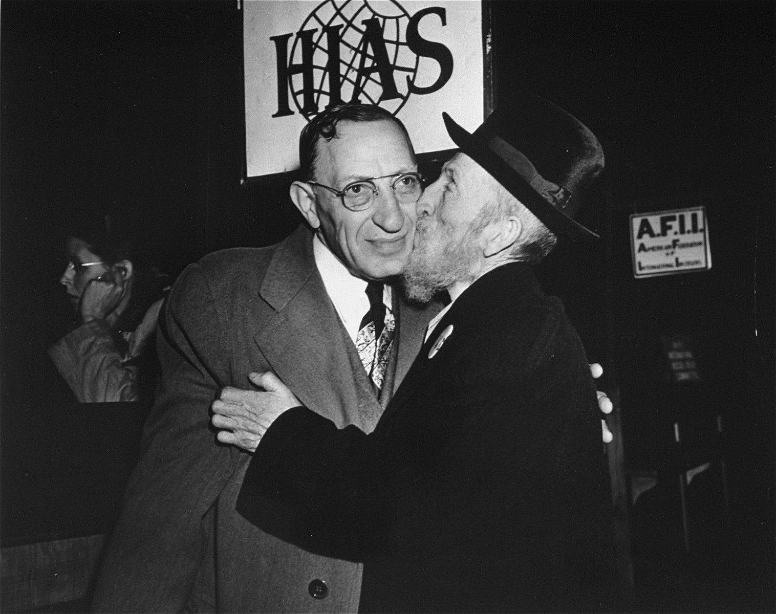 Two brothers from [Niski], Austria were reunited after more than fifty years when Israel Waissler landed in New York aboard the S.S. General Howze, and was greeted by his brother Samuel who arrived there in 1888.