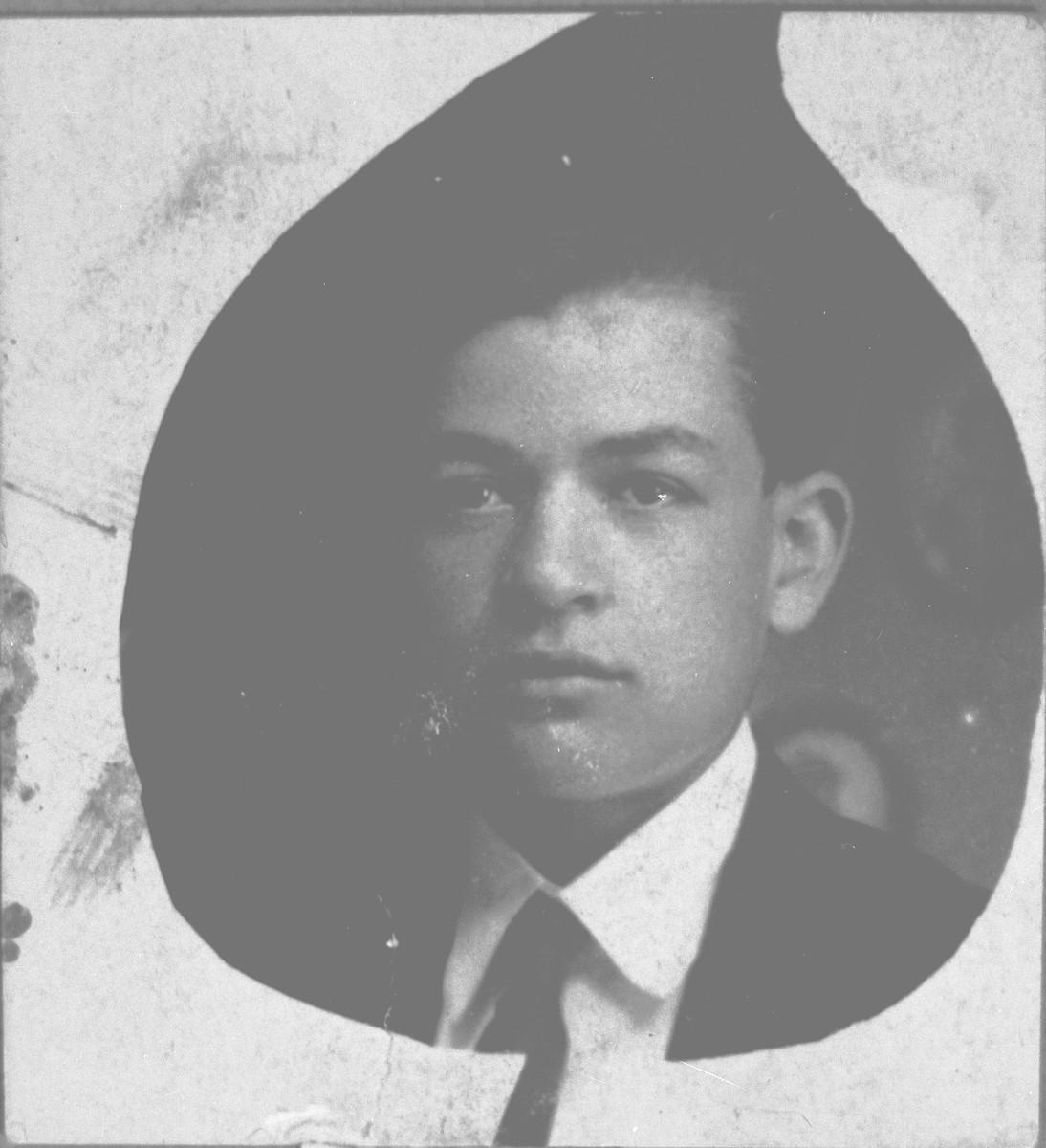 Portrait of Liyao Kamchi.  He lived at Karagoryeva 83 in Bitola.