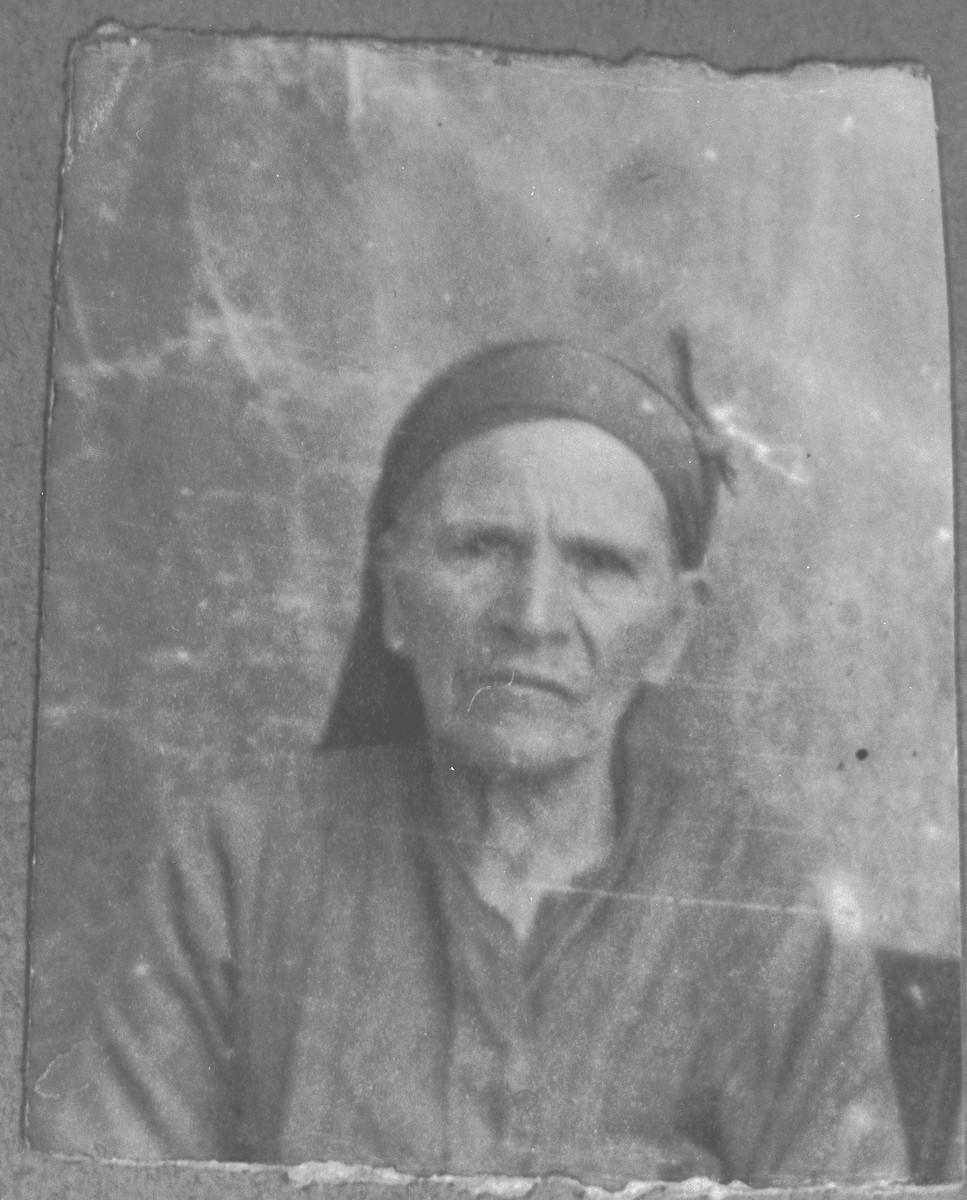 Portrait of Bohora Kamchi (patronymic: Shelomo).
