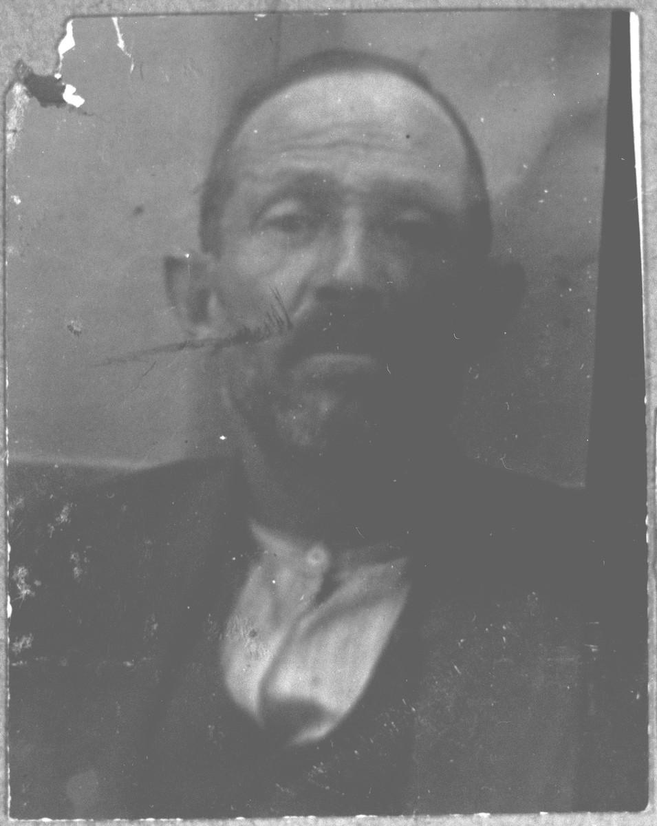 Portrait of Sava Kamchi.