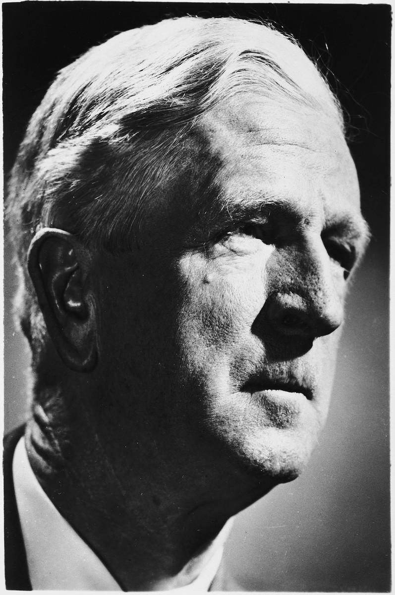 Studio portrait of James G. McDonald.