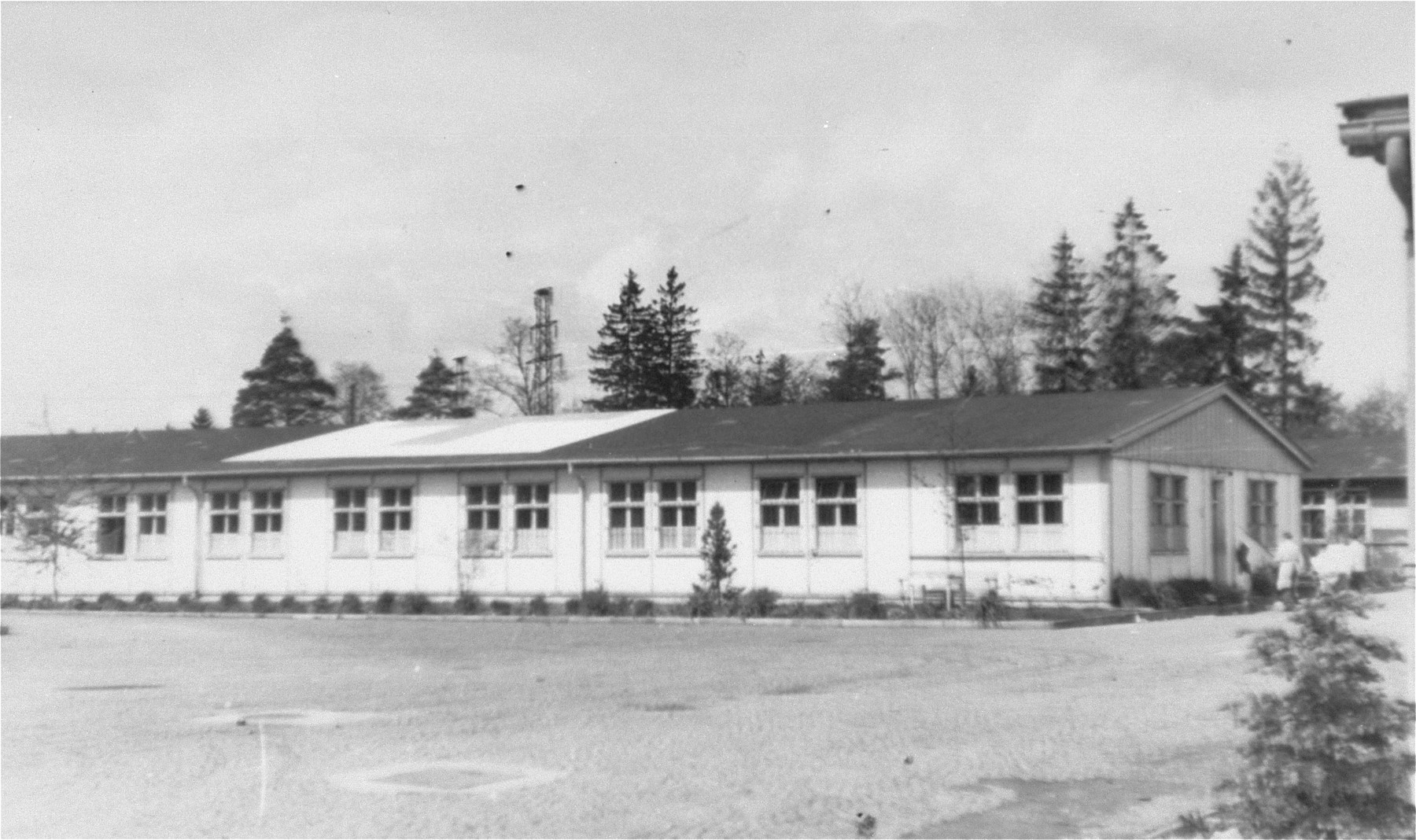 An infirmary in the Dachau concentration camp.