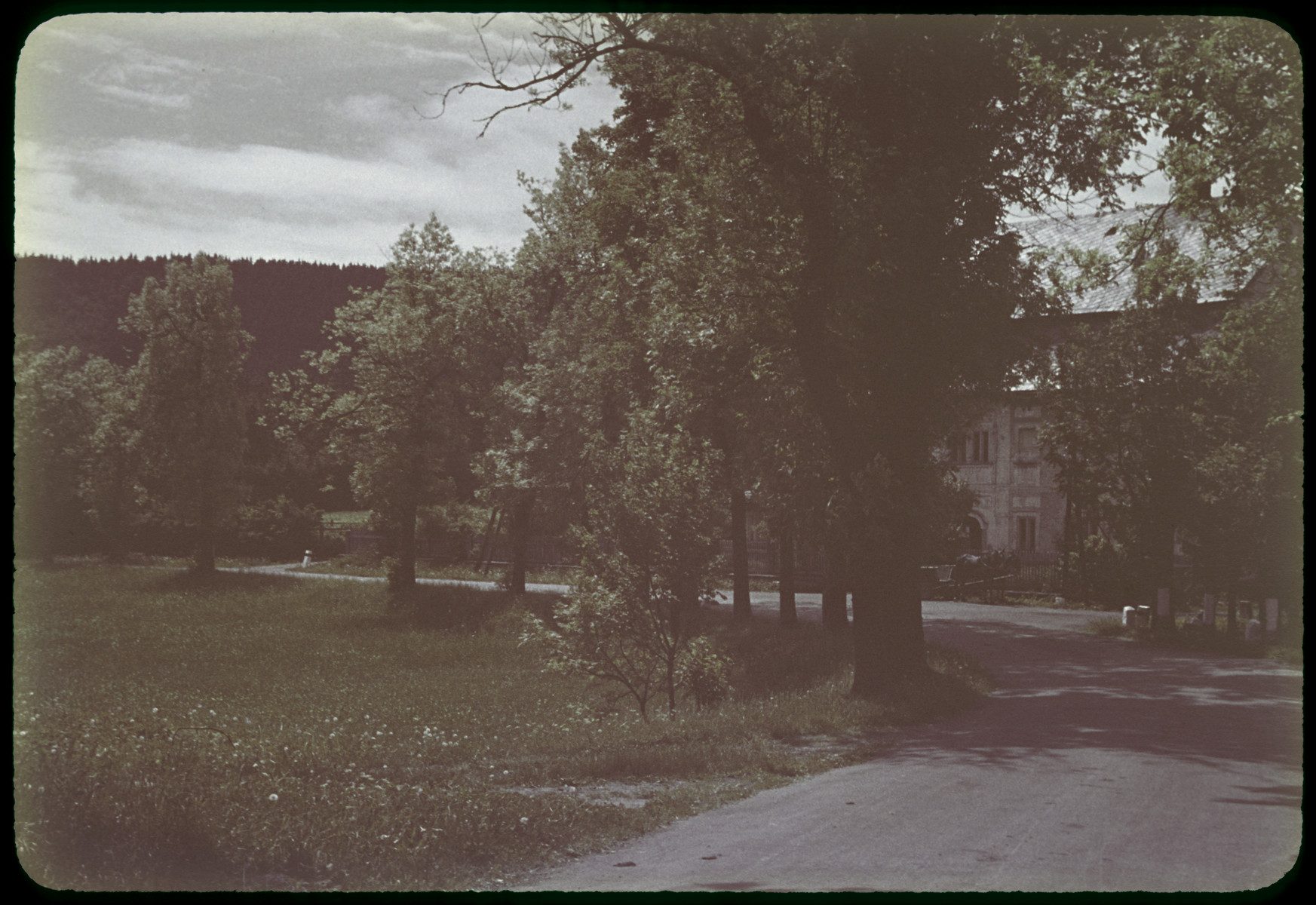 Postwar view of a tuberculosis sanatorium, [probably in Brest].