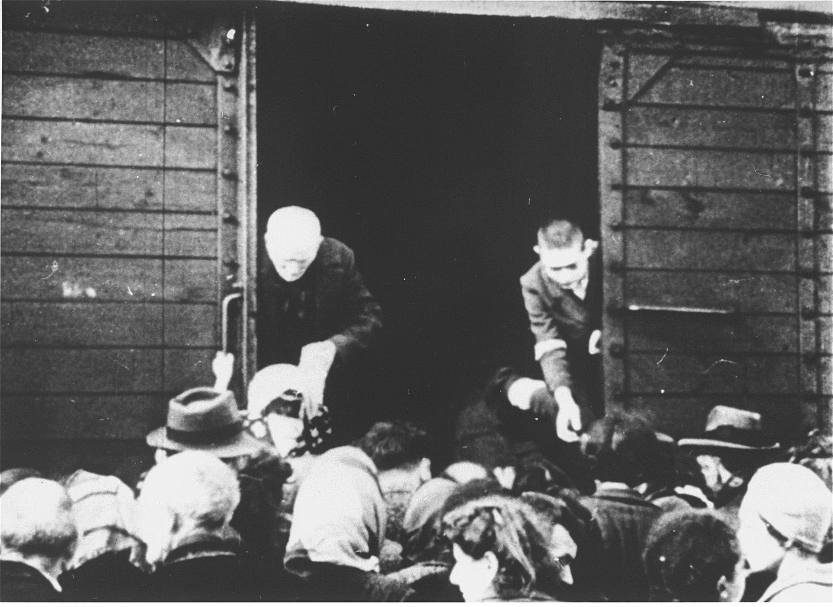 The deportation of Jews from Westerbork.