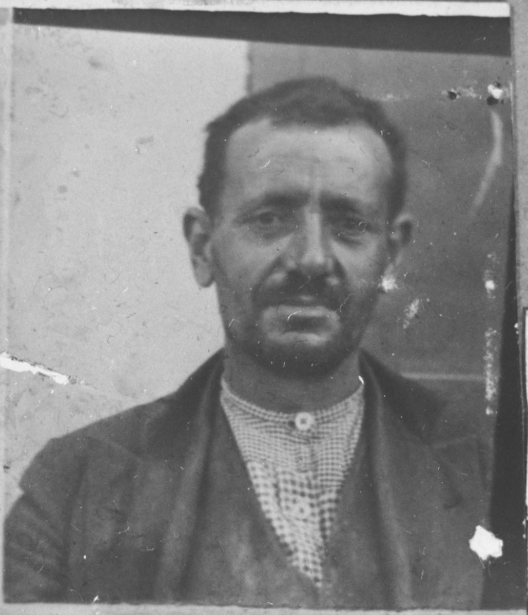 Portrait of Yuda Kalderon, son of Sava Kalderon.  He lived at Novatska 7 in Bitola.