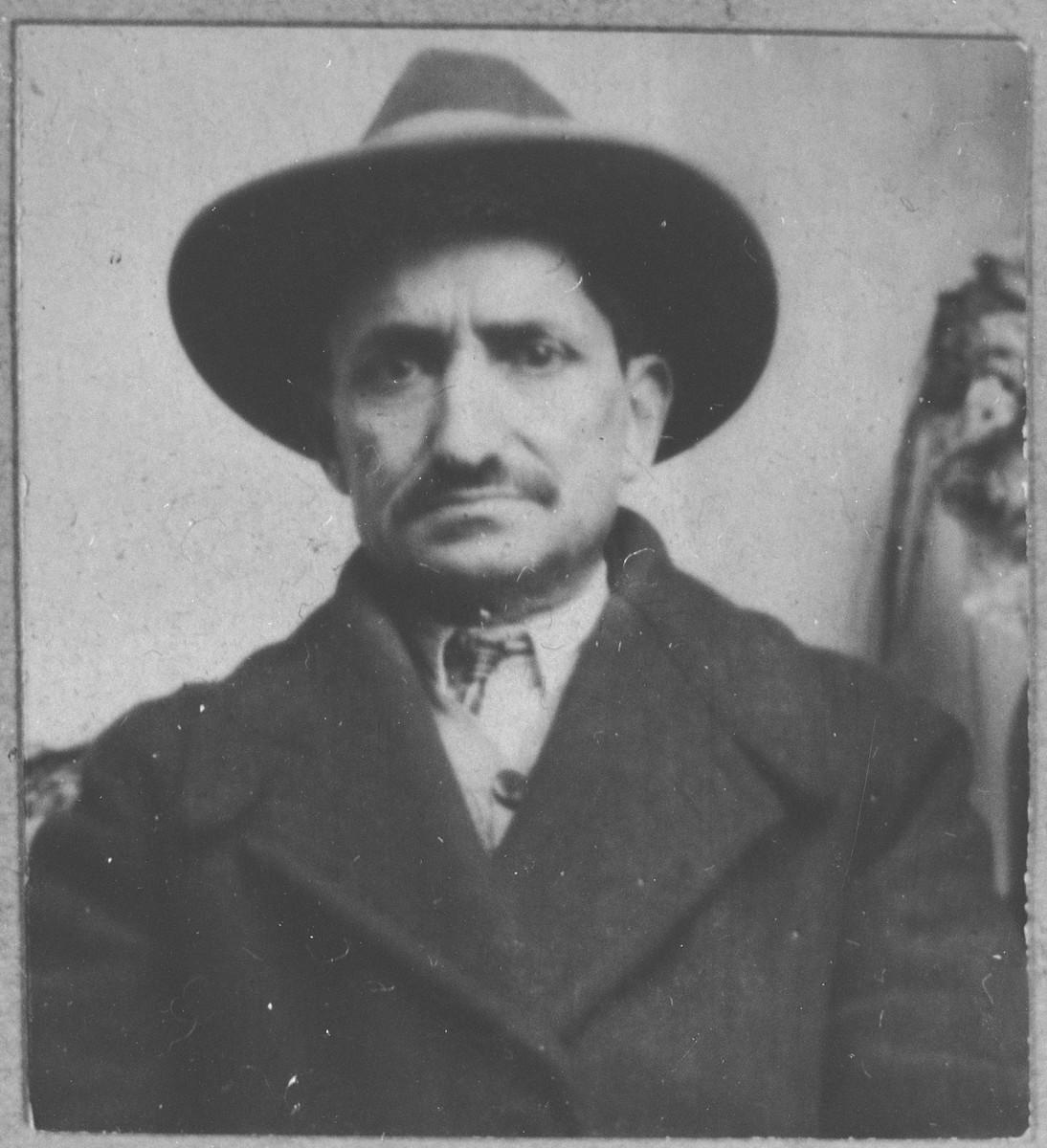 Portrait of Yosef Kalderon.