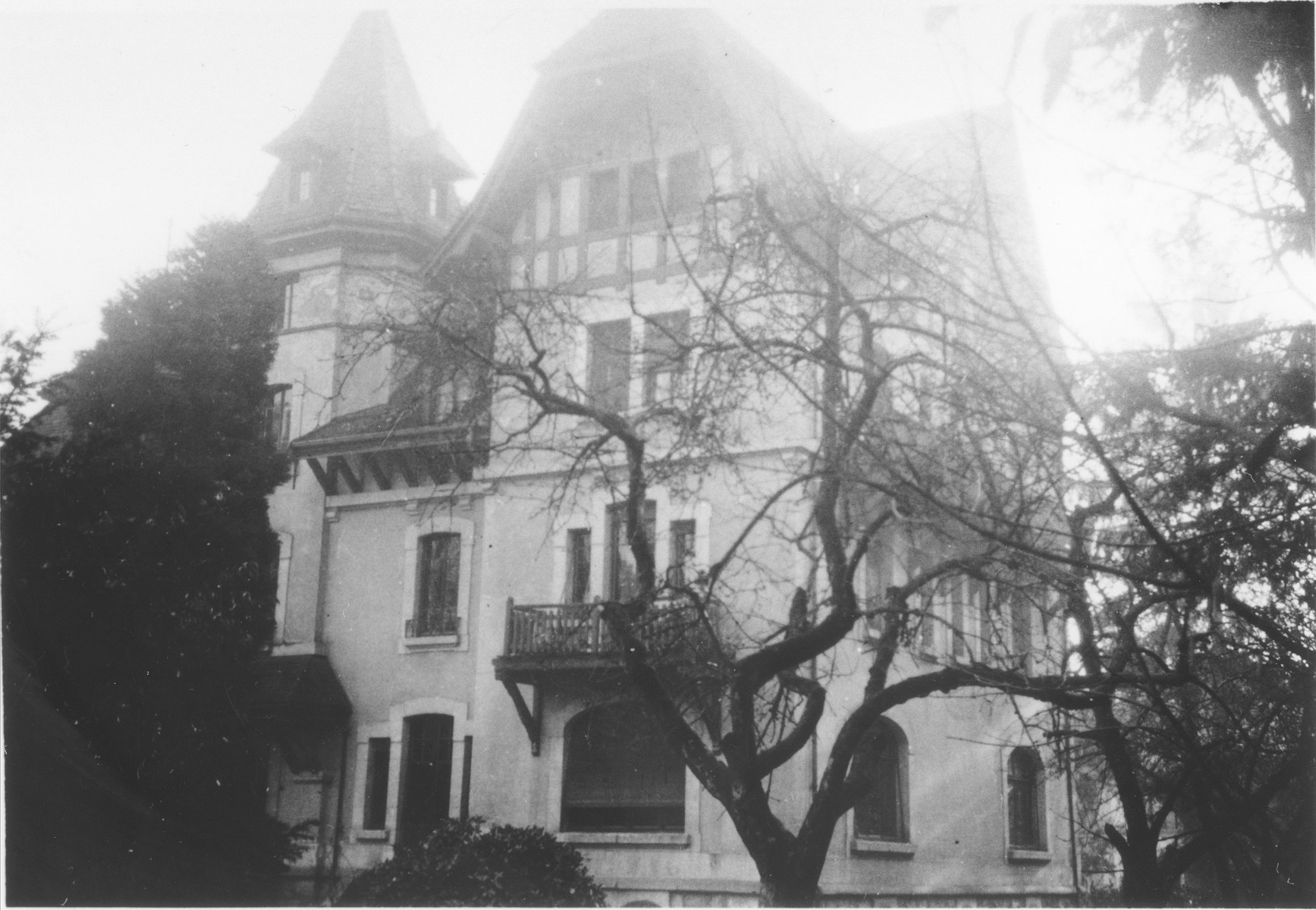 View of the Hôme de la Forêt children's home in Geneva, Switzerland.