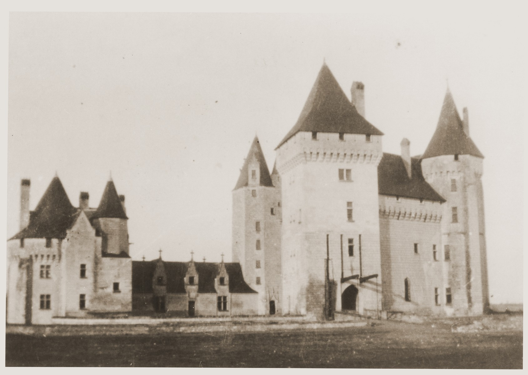 View of the chateau at Le Coudray, where Jewish children were hidden during the war.
