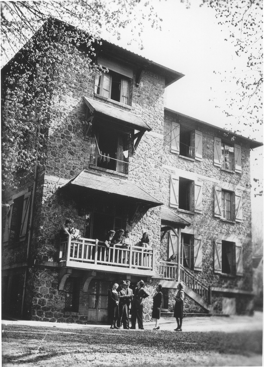 View of the St. Germain children's home.