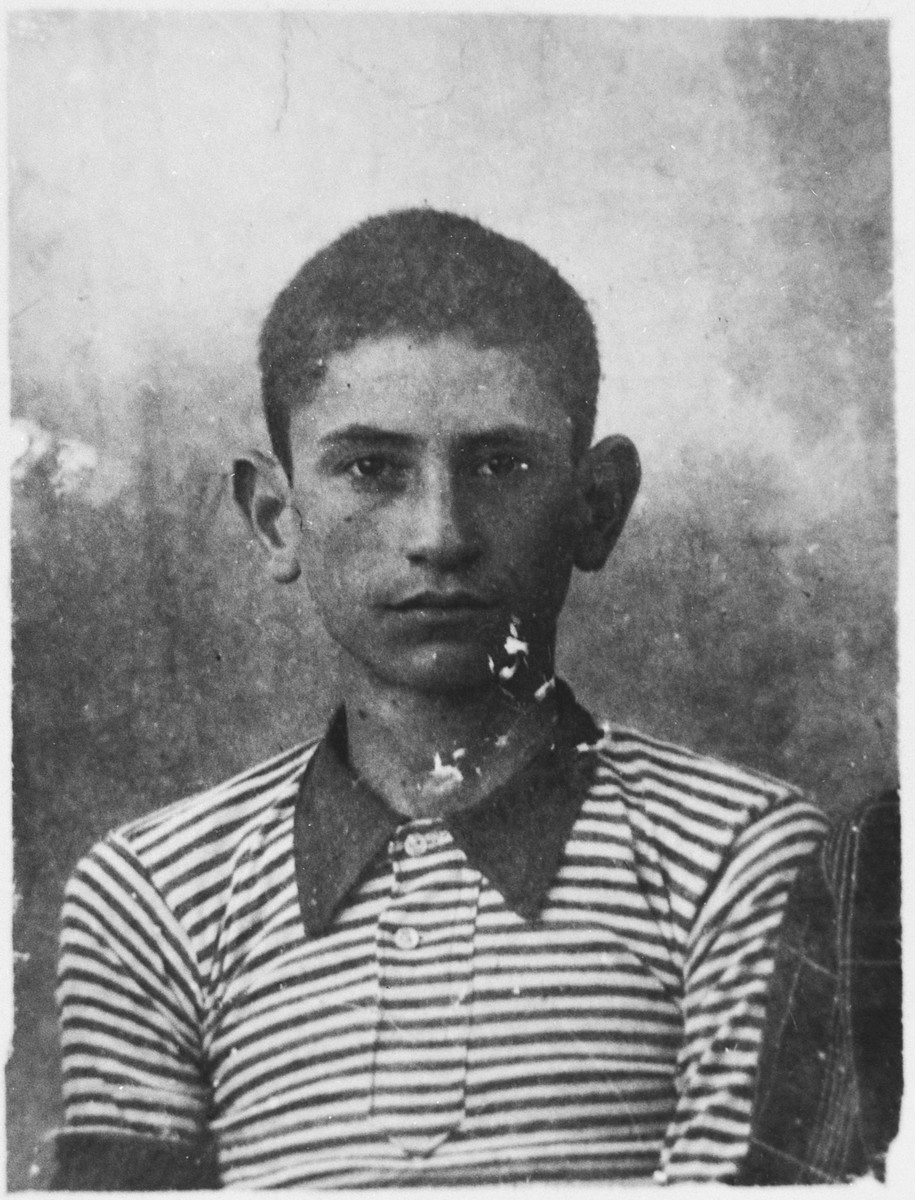 Portrait of an unknown child from Bitola.