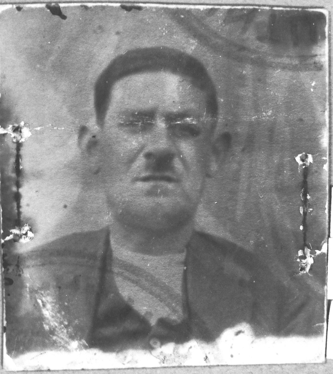 Portrait of Bohor Eschkenasi.