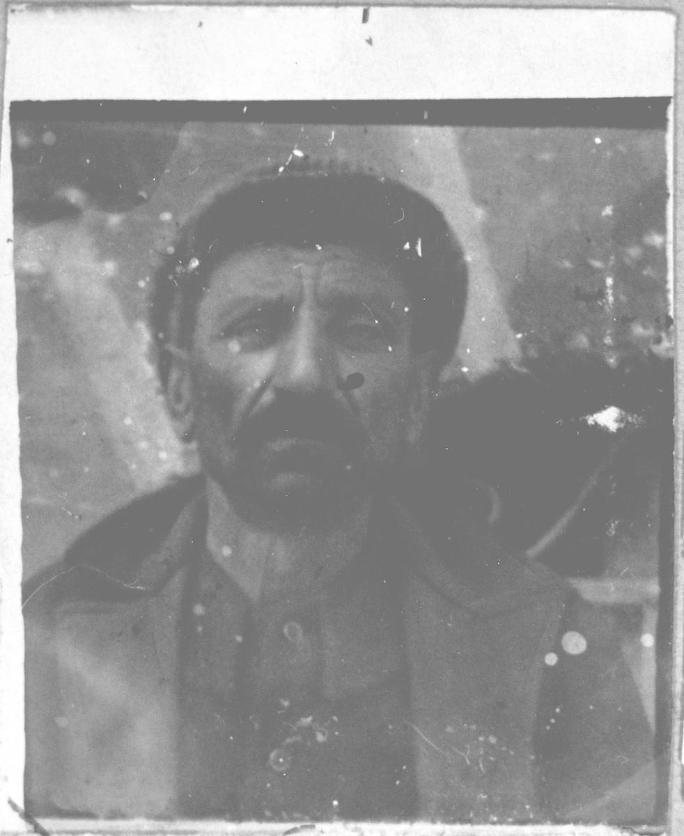 Portrait of Masliach Eschkenasi.
