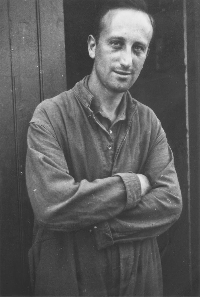 Portrait of Herbert Mosheim, a Jewish refugee in the Kitchener refugee camp in Richborough (Kent), England.