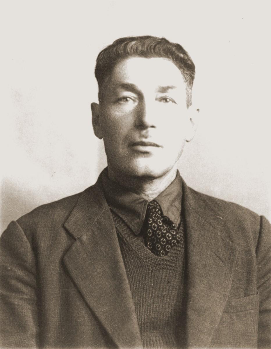 Portrait of Yudel Szklarski, donor's father.