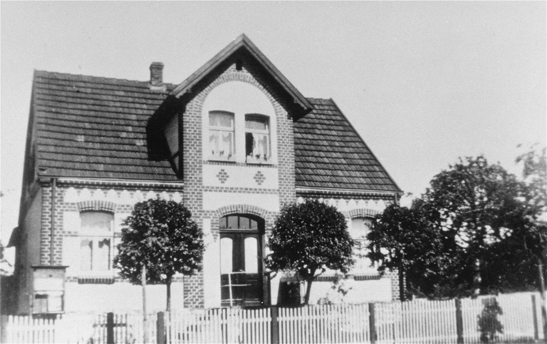 The Kusserow family home in Bad Lippspringe.