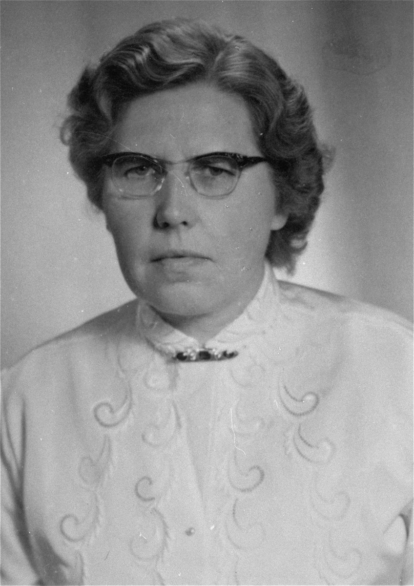 Annemarie Kusserow, a Jehovah's Witness who was arrested by the Gestapo in October 1944 and was a prisoner until 25 May 1945, well after the end of the war.