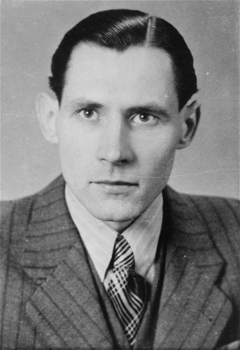 Karl-Heinz Kusserow, a Jehovah's Witness who was arrested by the Gestapo in July 1940 and imprisoned in Sachsenhausen and Dachau until his release in June 1945.  Kusserow died in October 1946 as a result of ill-treatment during his incarceration.