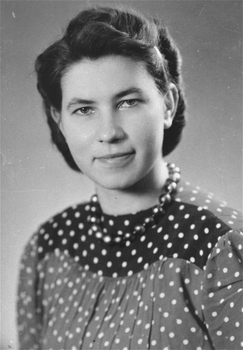 Hildegard Kusserow, a Jehovah's Witness who spent four years and six months in concentration camps for her faith, including Paderborn, Vechta, and Ravensbrueck.