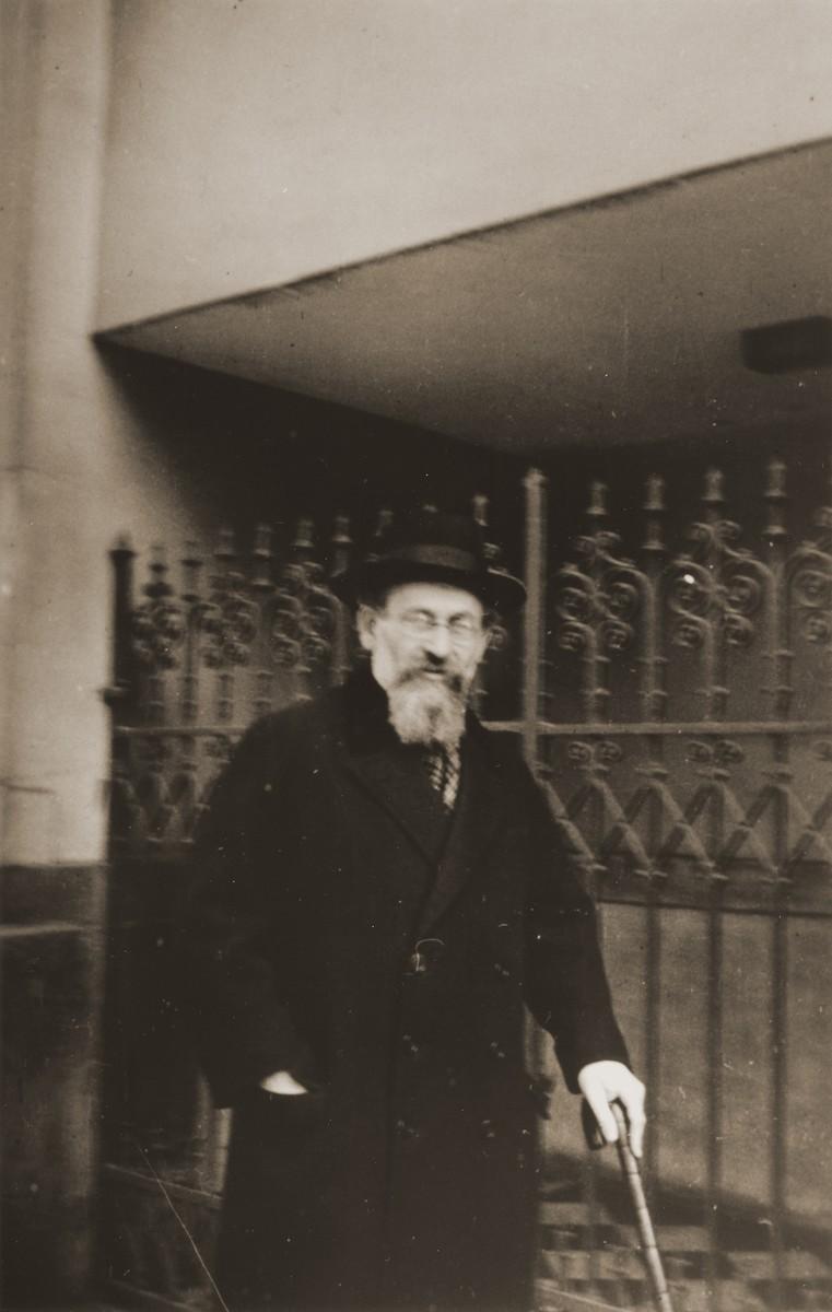 Rabbi Doctor Joseph Breuer.