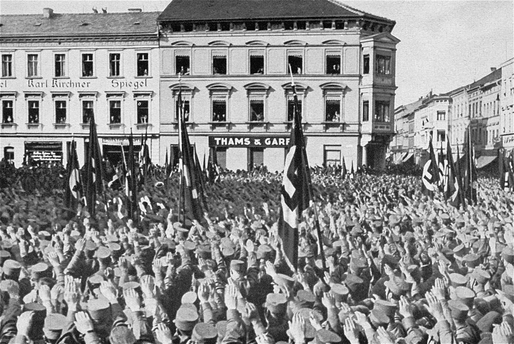 An SA rally in Meiningen.