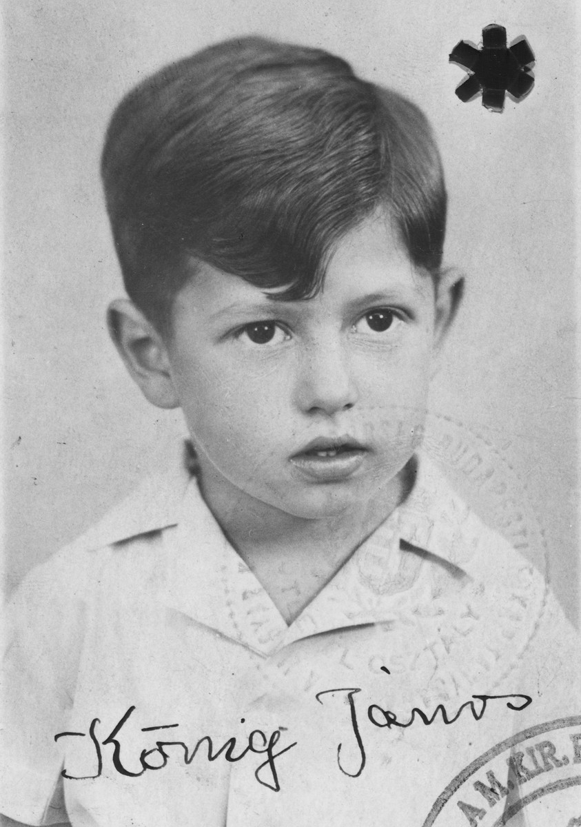 Identification photograph for Janos Koenig.