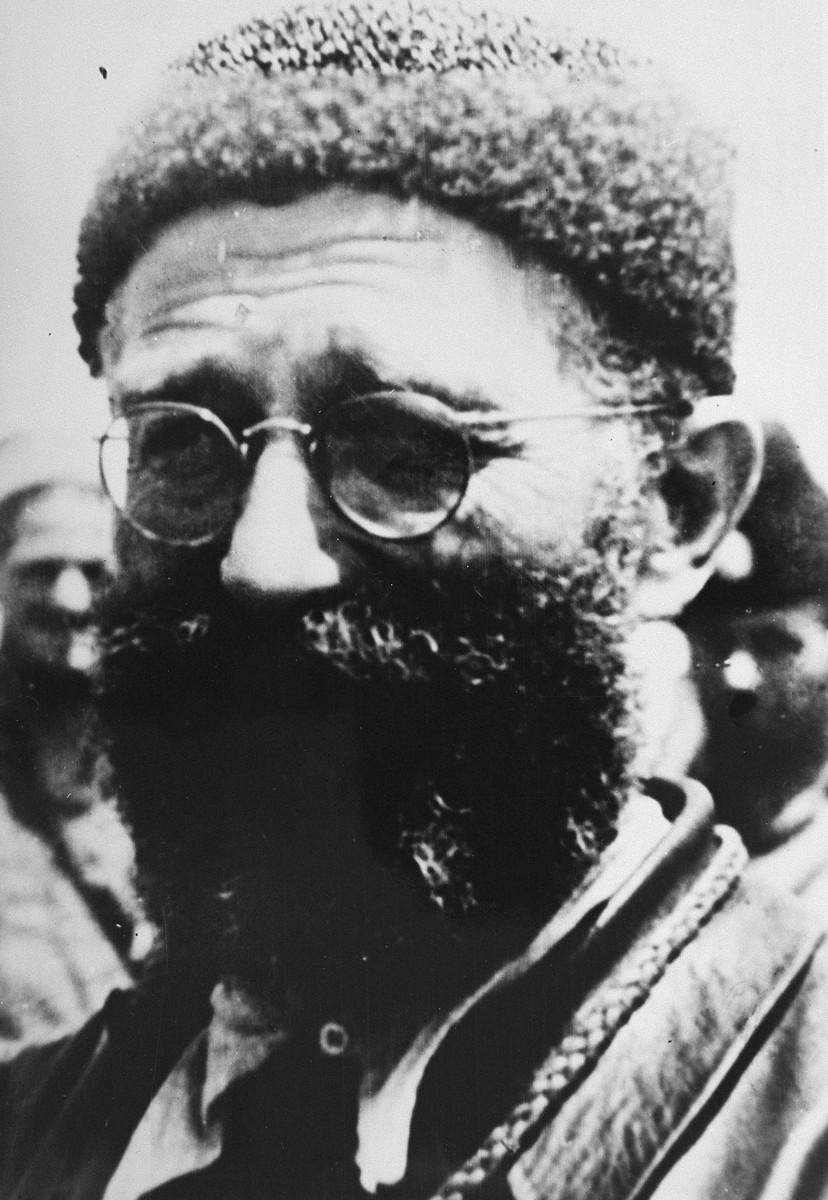 Portrait of Chetnik leader Dragoljub Draza Mihajlovic.