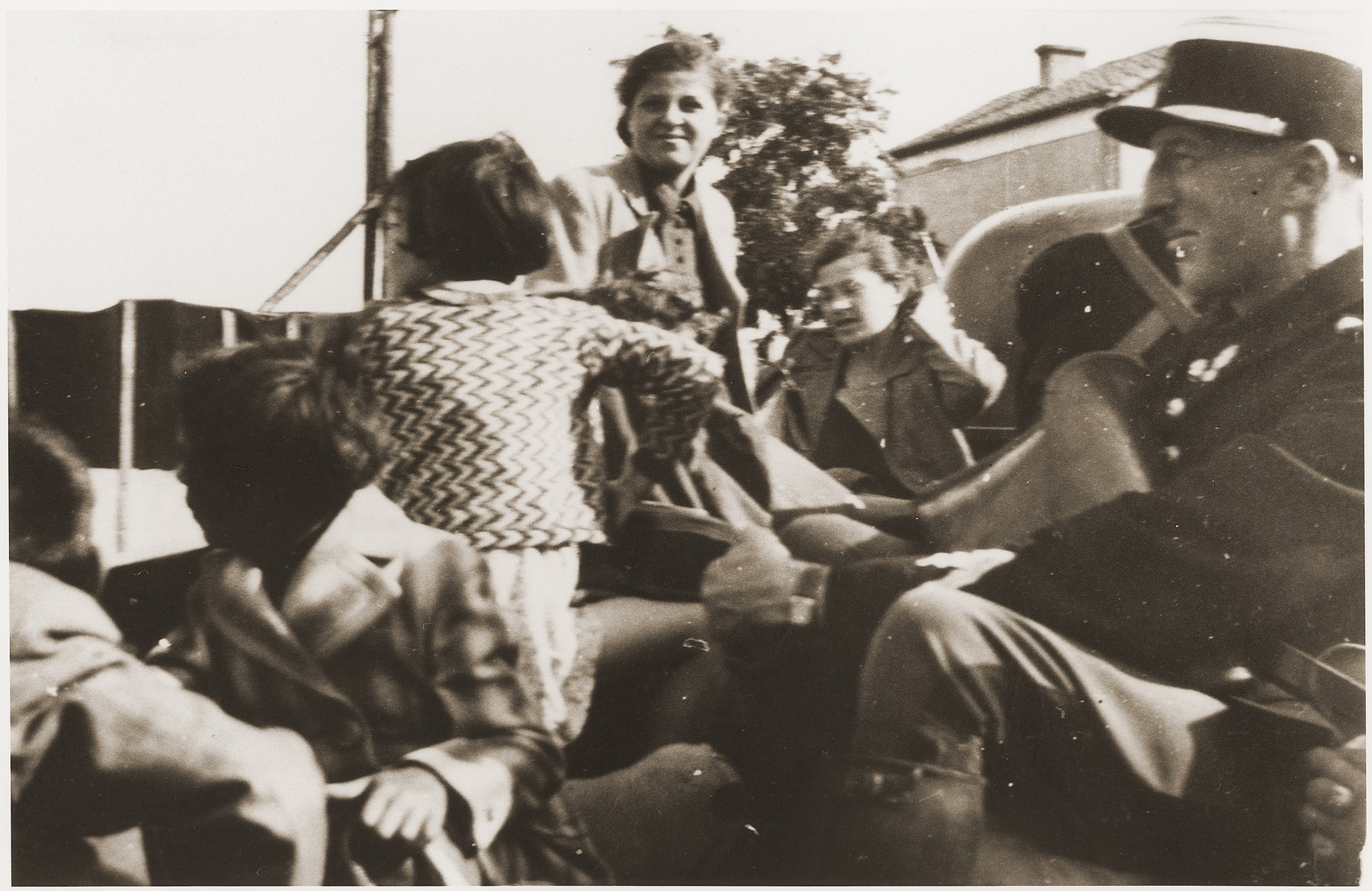 A group or children taken from the Pringy children's colony to Rivesaltes are allowed to return home due to the intervention of Maurice Dubois (French coordinator of the Swiss Red Cross).