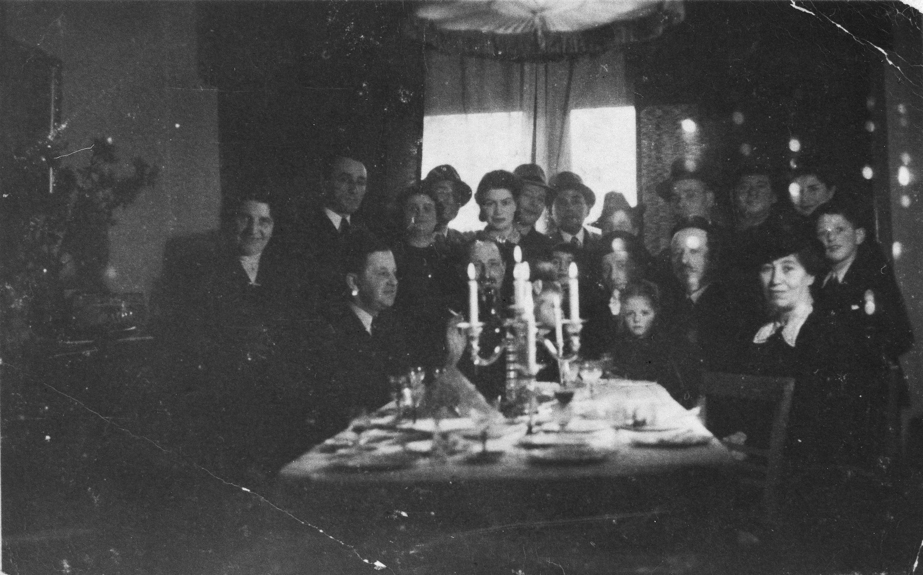 A Jewish circumcision ceremony for the infant Alfred Münzer at his home in The Hague.