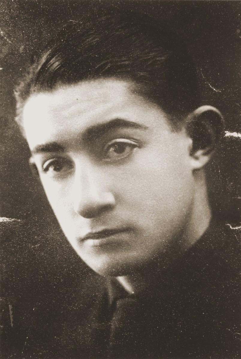 Portrait of Zvi Hirsch Harmatz.