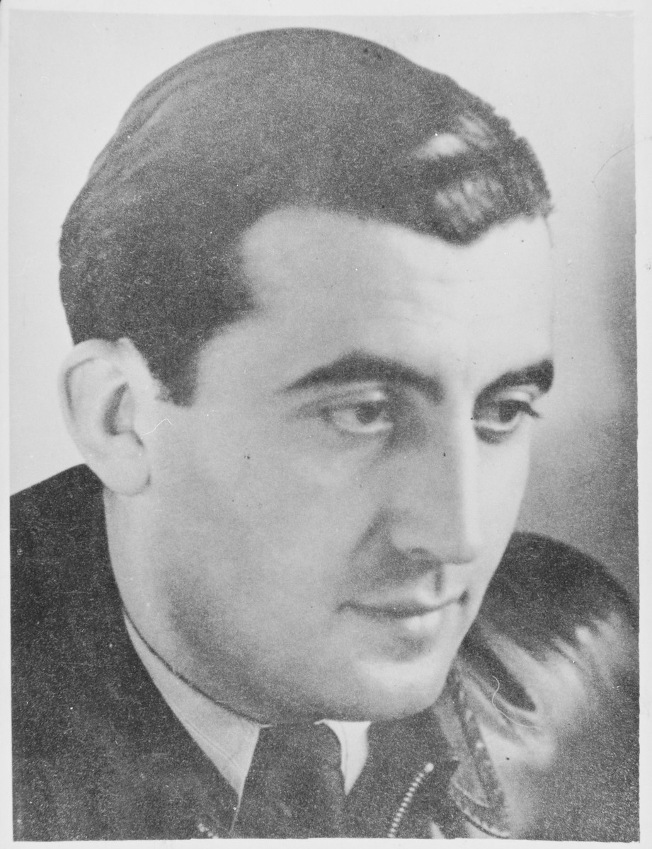 Portrait of Alfred Selbiger, director of Youth Aid and the Jewish Youth Labor Service in Berlin during the Third Reich, who was executed by the Gestapo in November 1942.